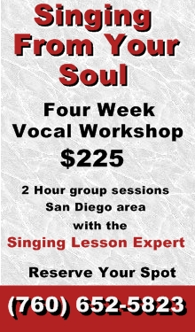 Singing From Your Soul Workshop